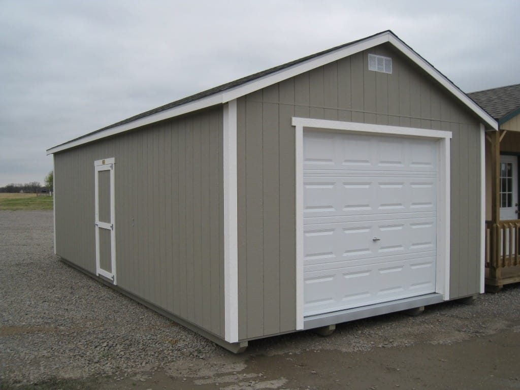 14×28 Portable Garage